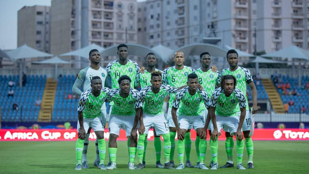 Nigeria in AFCON round of 16