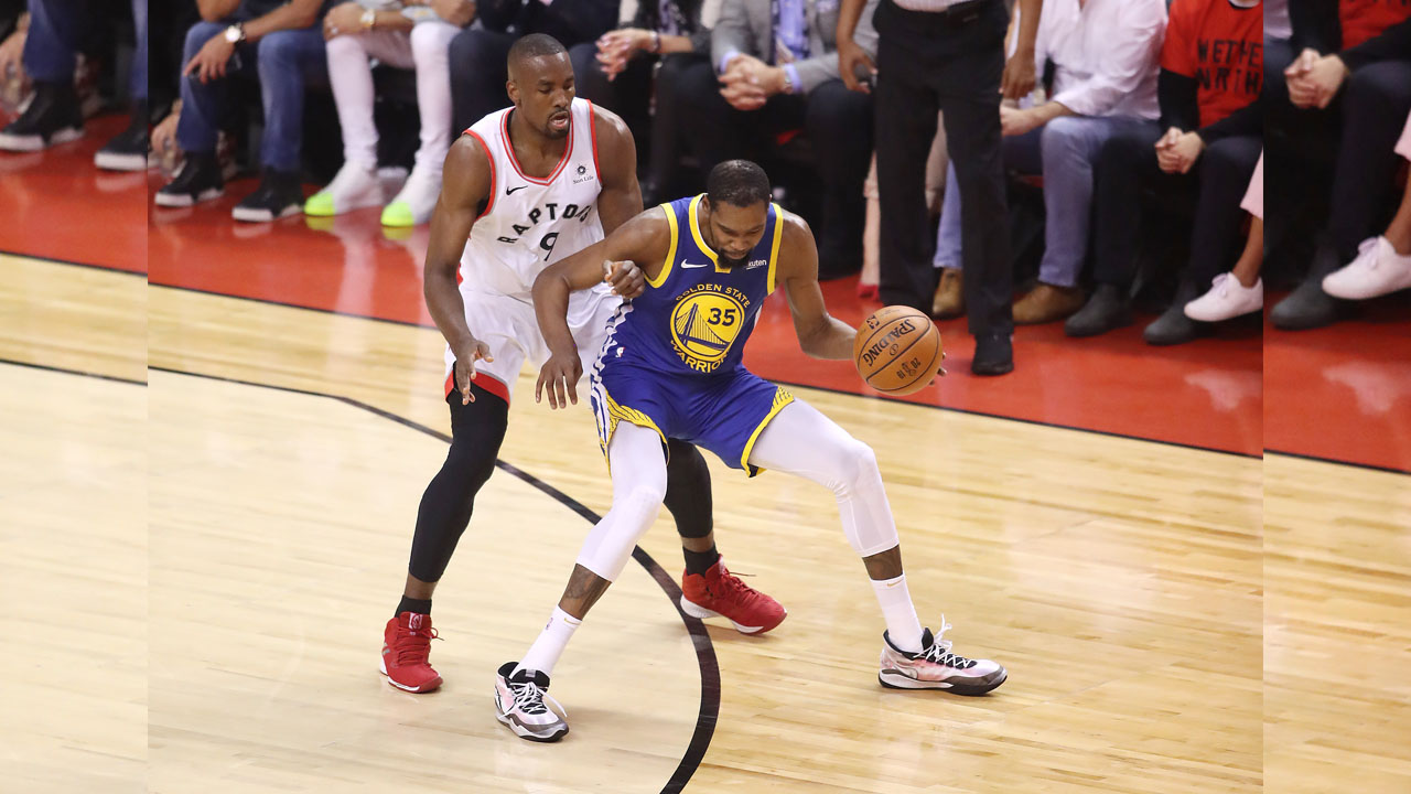 Durant's shock injury exit stuns NBA Finals rivals