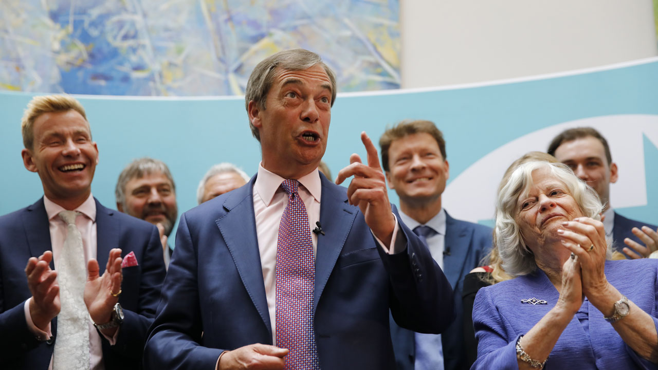 Farage's Brexit party aims for first UK MP in by-election