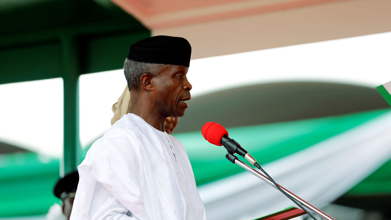 You frighten me by your assessment of Buhari's government, Osinbajo tells cleric