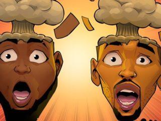 Davido and Chris Brown Blow My Mind