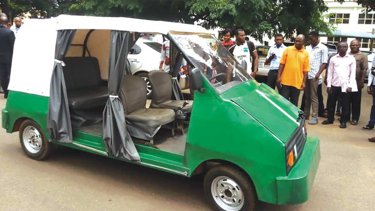Image result for UNN Produces Nigeria's First Electric Car