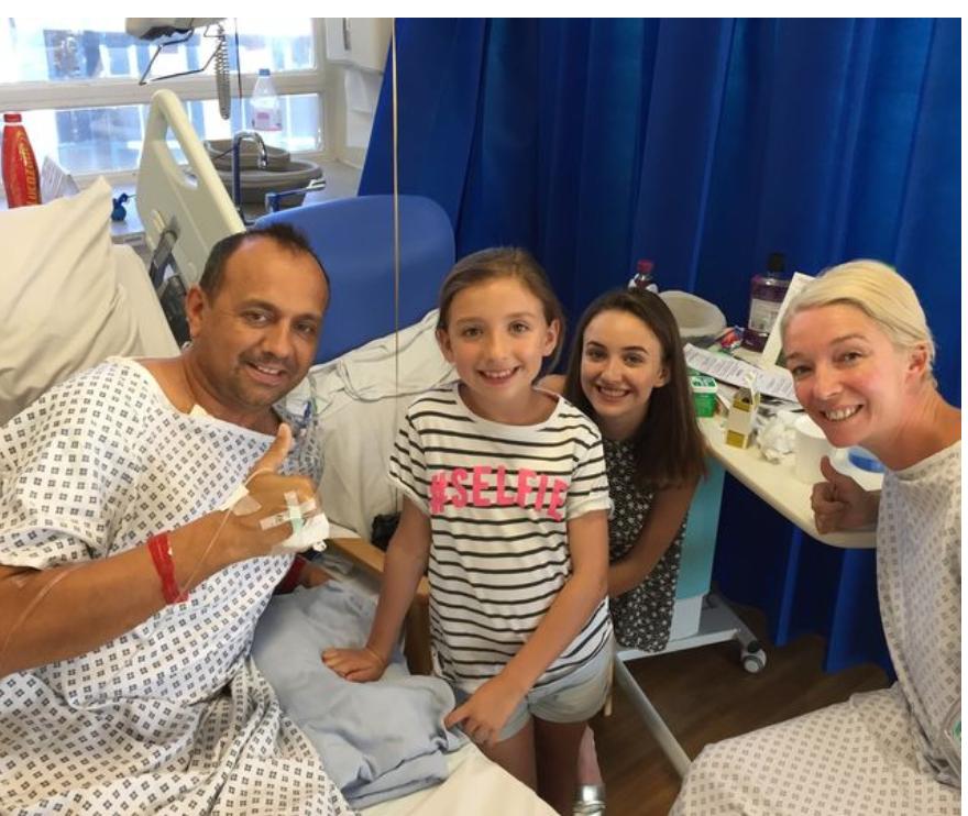 Dan Pyatt, Kelly Hope and their two children