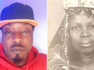 Eedris Abdulkareem and mother