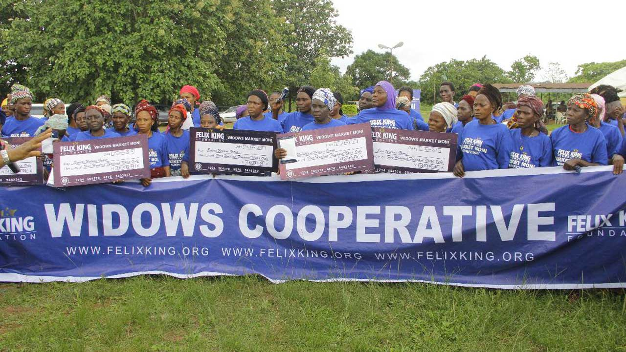 IWD: Rural widows benefit from foundation's Market Moni programme