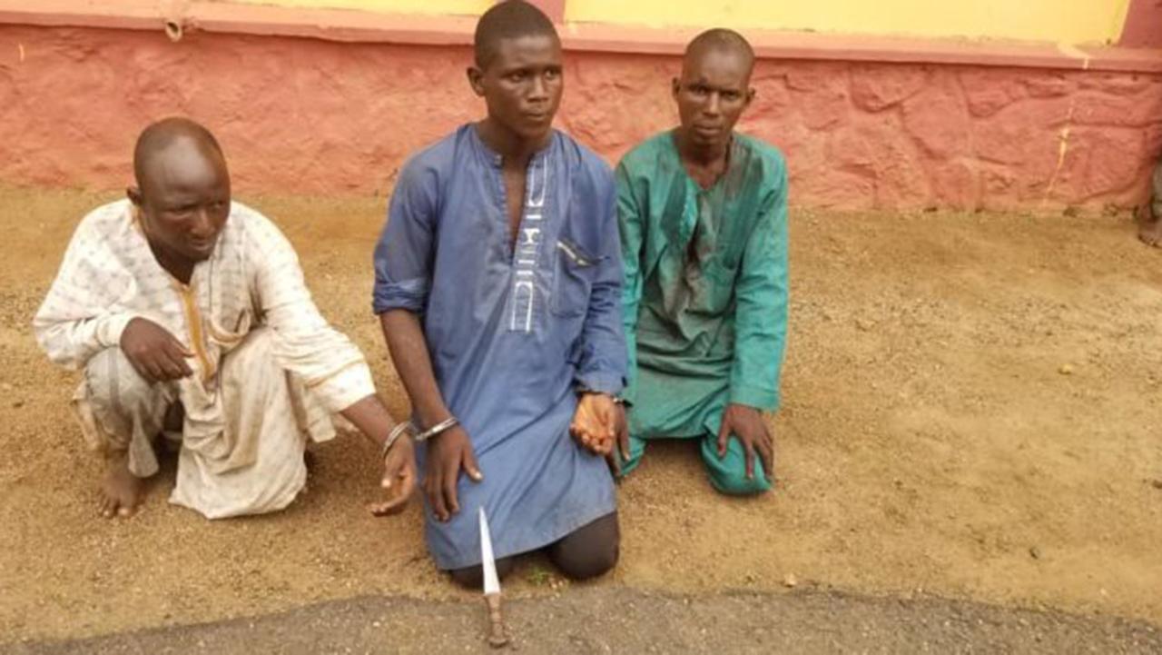 Police arrest three herdsmen for killing farmer in Ogun