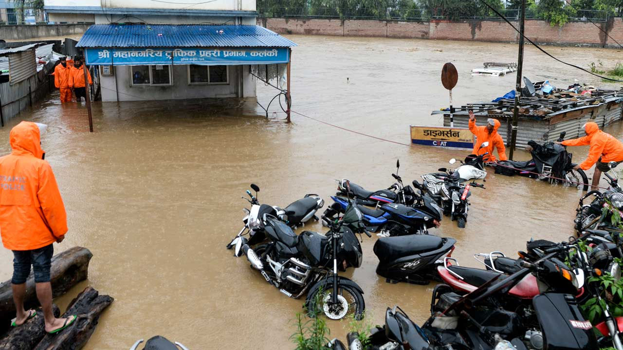 Over three dozen killed in monsoon rains in South Asia