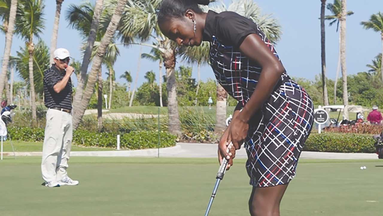 georgia oboh on verge of qualifying for british open