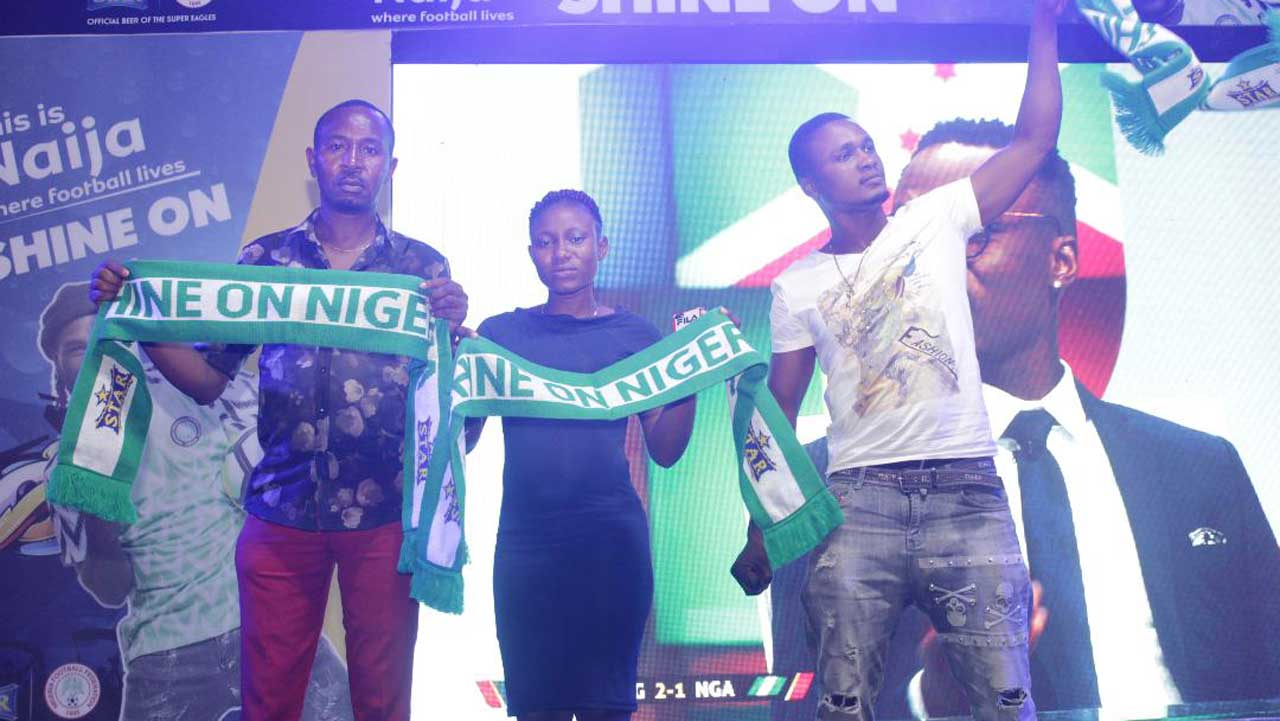 Star Lager fulfills pledge despite Algeria's victory over Nigeria