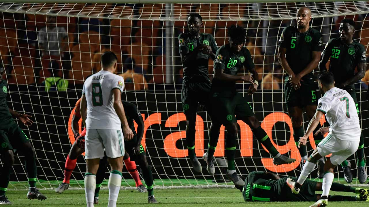 Mahrez stunner sends Algeria into Africa Cup of Nations final