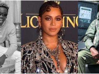 Shatta Wale, Beyonce and Sarkodie