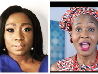 Stephanie Busari and Kemi Olunloyo