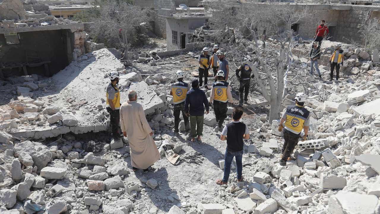 Children among 14 civilians killed in Syria strikes
