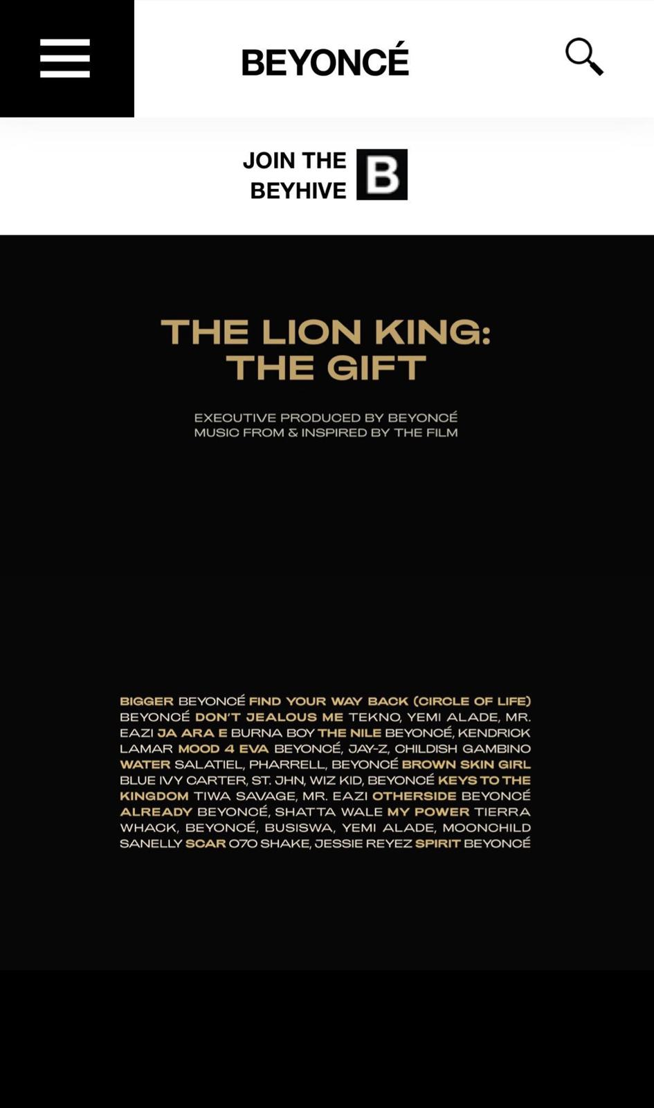 The Lion Gift: The Gift
