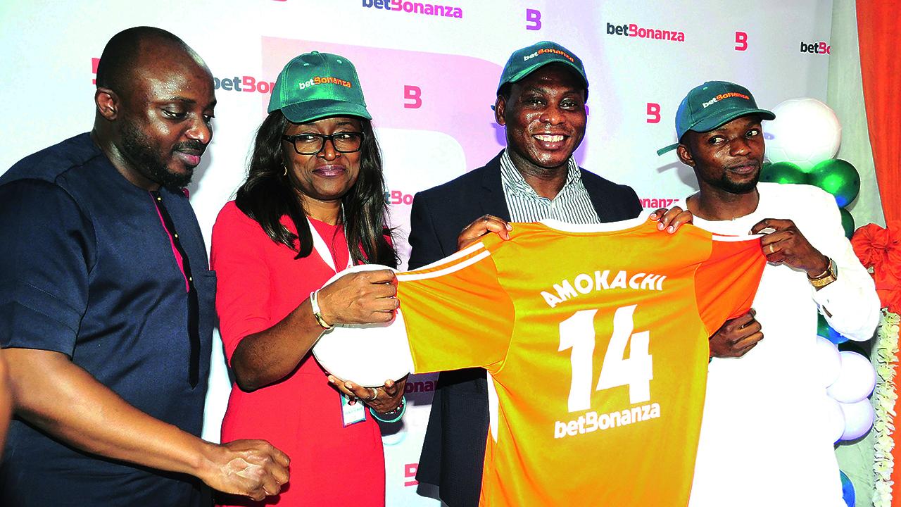 BetBonanza unveils Amokachi as brand ambassador, promises support for 'lesser' sports