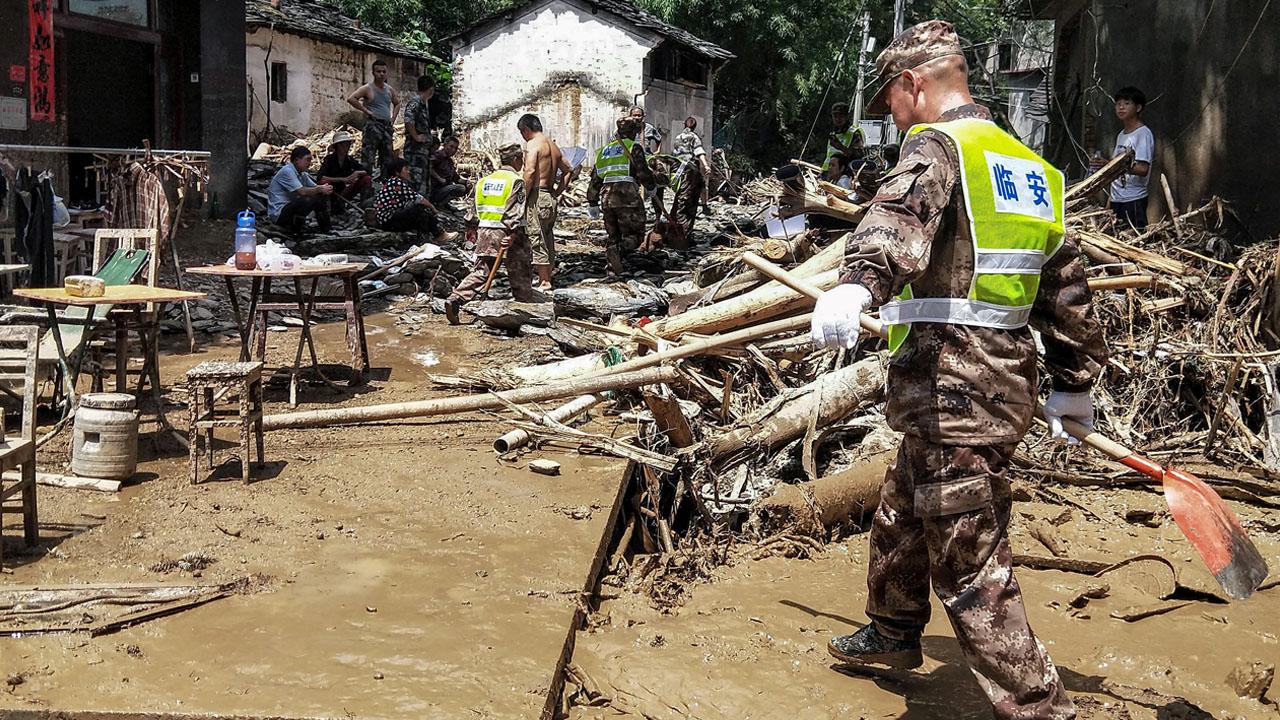 Typhoon Lekima death toll hits 49 in China