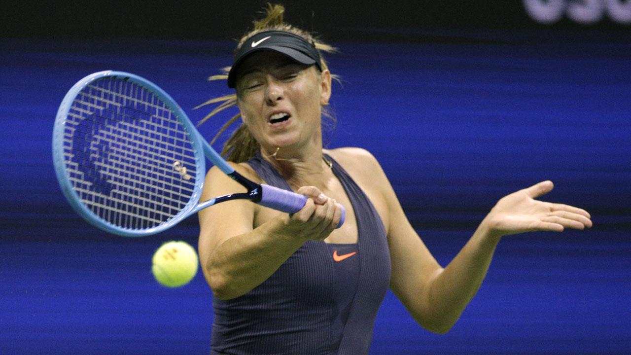 Serena Williams thrashes Maria Sharapova to reach US Open second round