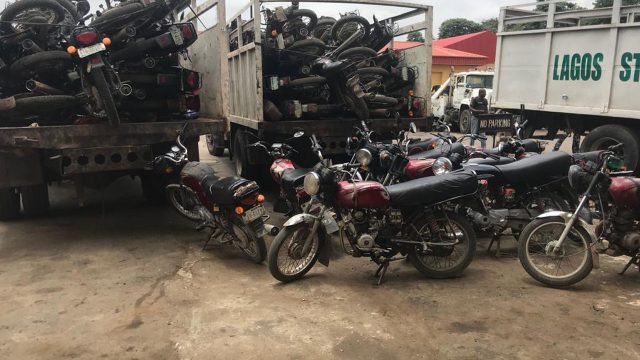 Lagos traffic agency impounds 134 motorcycles for allegedly flouting regulations - Guardian Nigeria