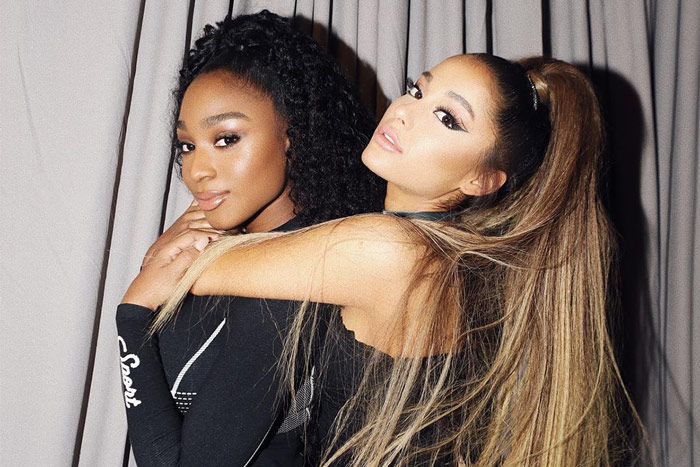 Normani and Ariana Grande