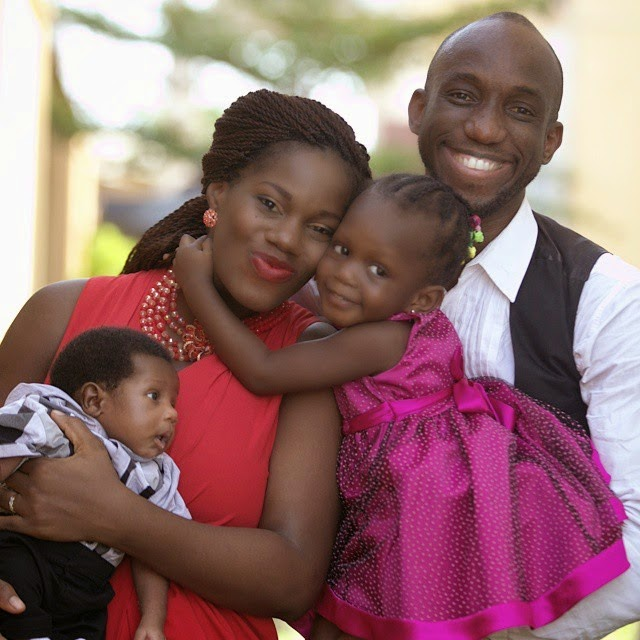 Obiwon and his family