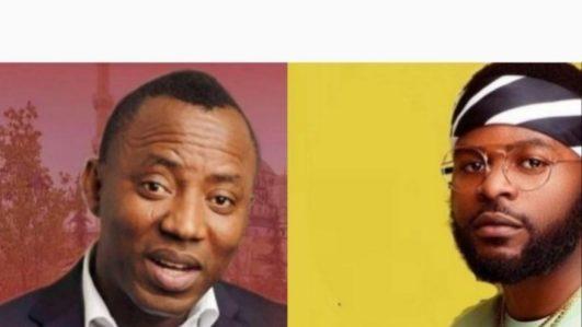 Omoyele Sowore and Falz