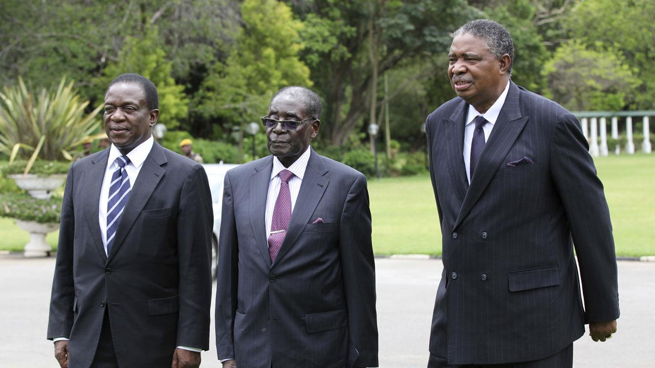 Mugabe Vice President flees Zimbabwe anti-corruption probe