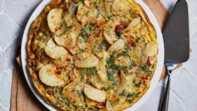 Potatochip Frittata