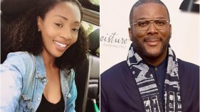 Racquel Bailey and Tyler Perry