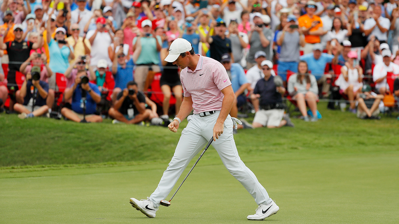 Rory McIlroy shoots 67 at European Masters, trails leaders by 4