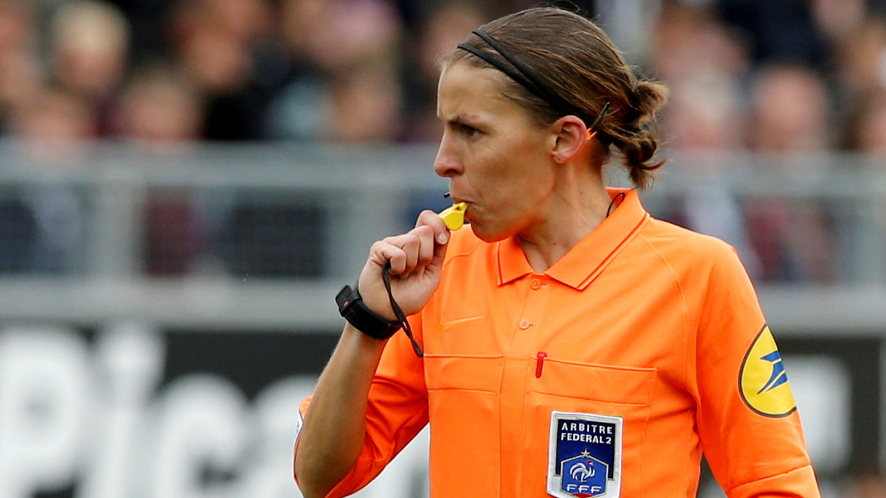 First female referee to officiate Super Cup not afraid of intense spotlight