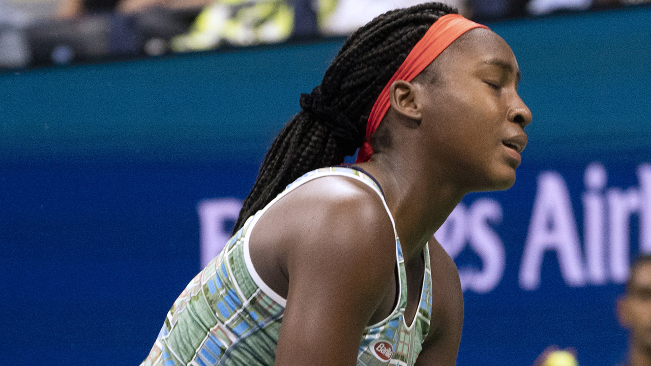Osaka brings Gauff's NY run to a halt
