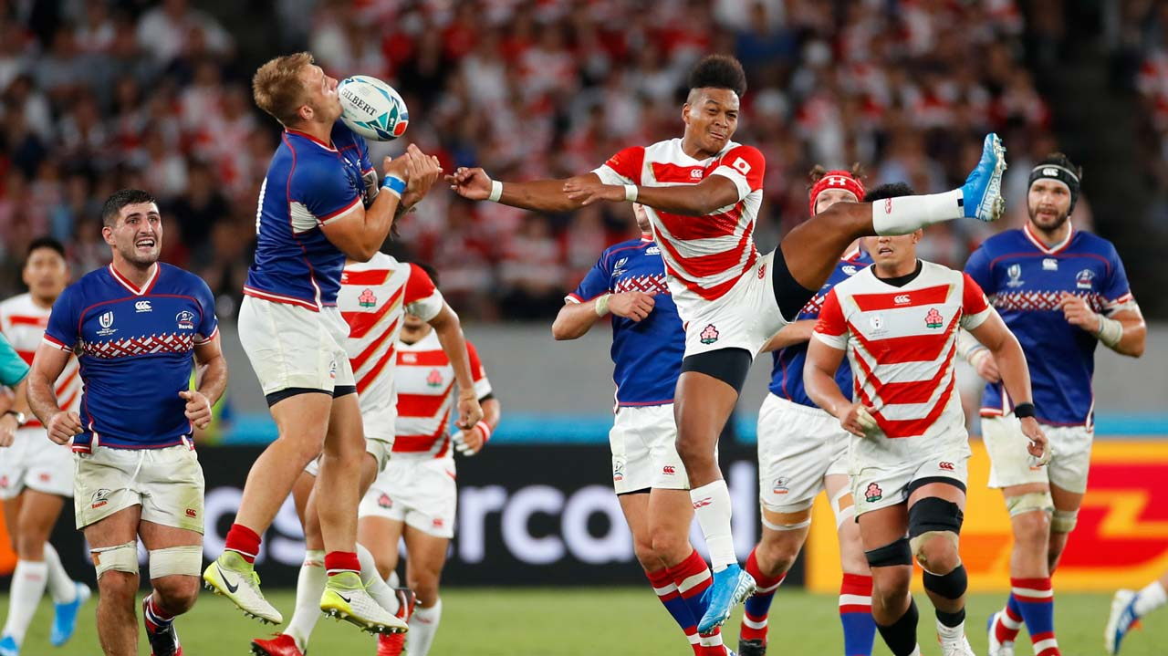Japan opens Rugby World Cup with victory over Russia