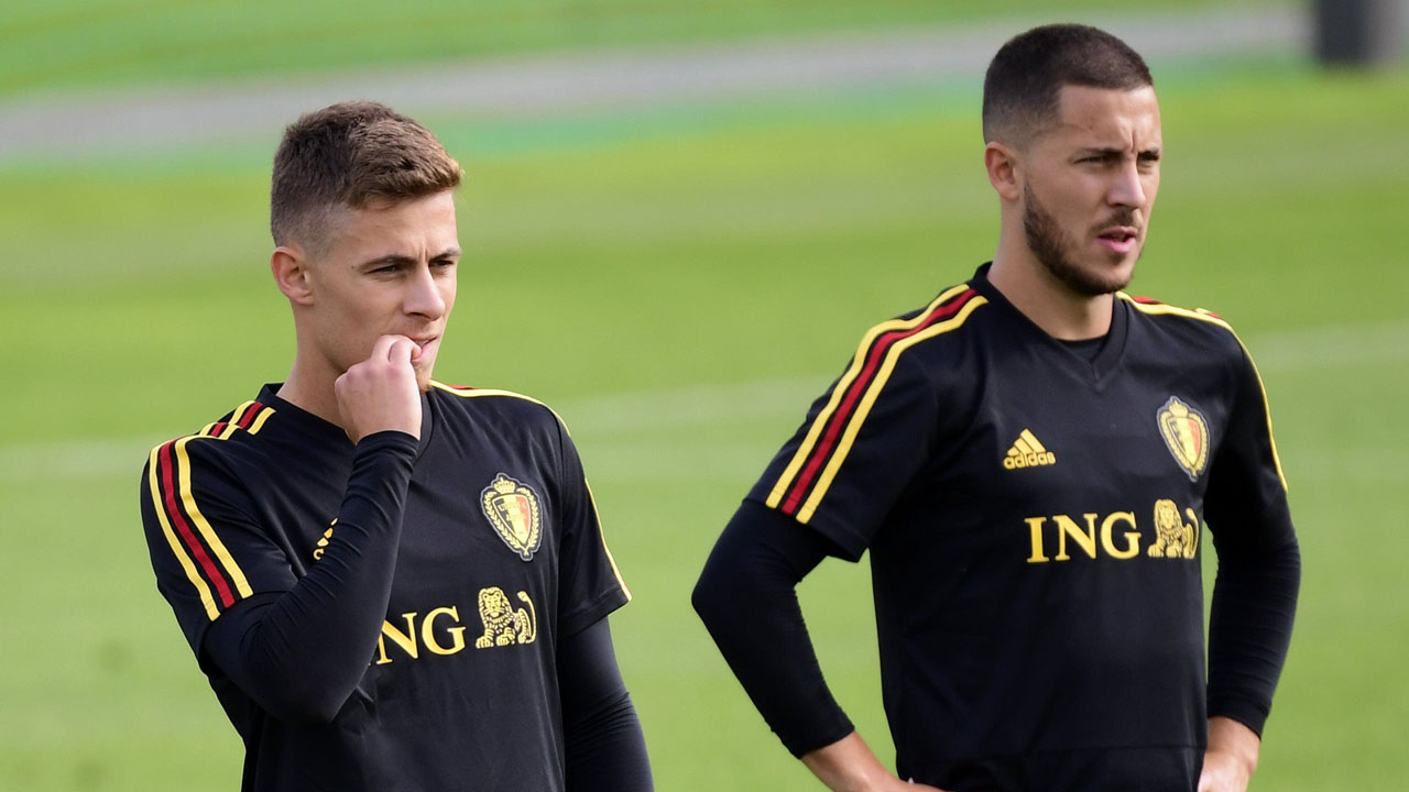Euro 2020 Qualifiers: Eden and Thorgan Hazard ruled out of Belgium qualifiers
