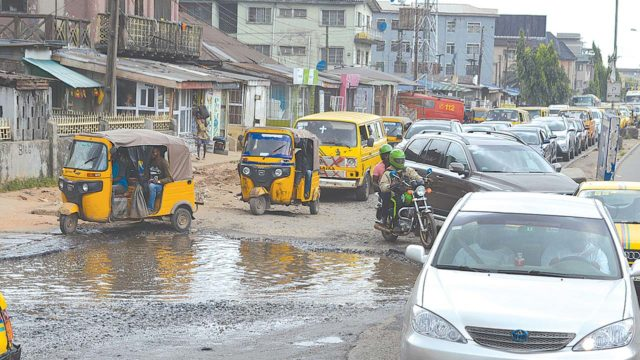 Lagos residents tackle Sanwo-Olu on deplorable road infrastructure - Guardian