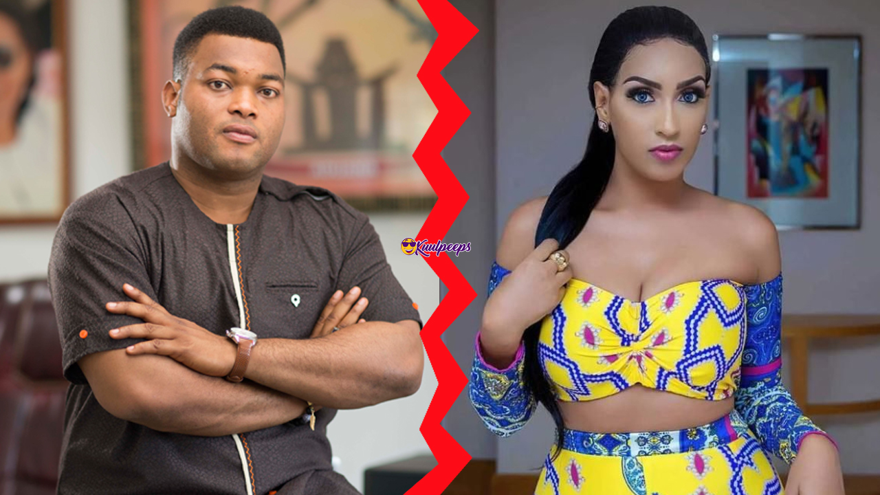 Kwadwo Safo Jnr and Juliet Ibrahim