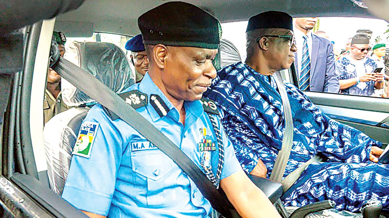 Image result for Dapo Abiodun Again! Ogun Governor Donates 100 Patrol Vehicles, 200 Bikes To Police