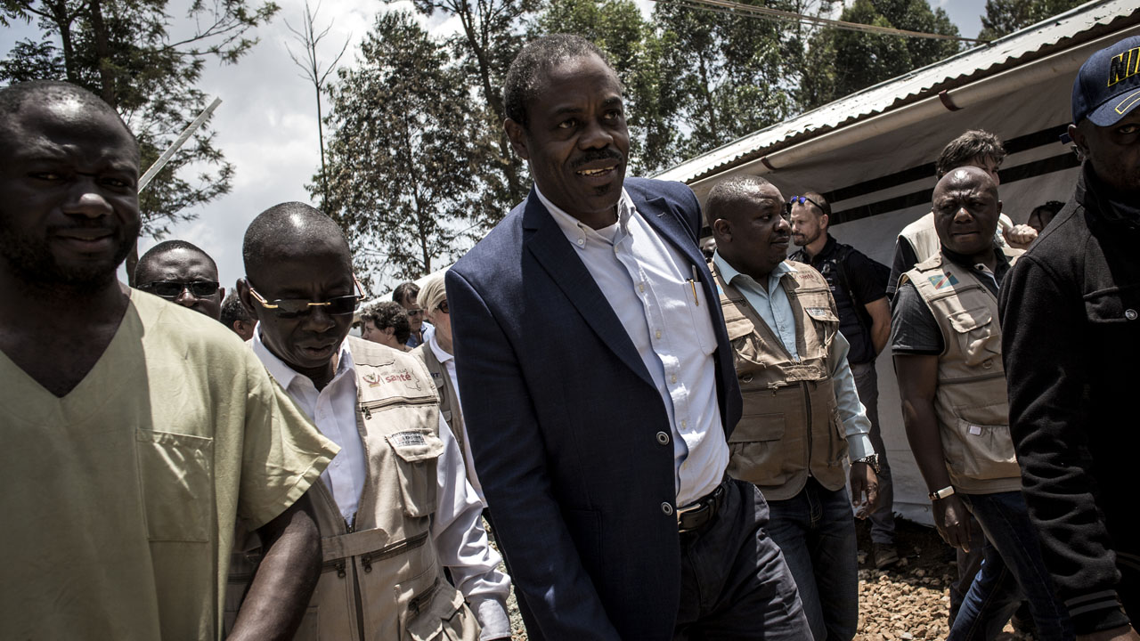 Congo's former health minister detained over Ebola funds