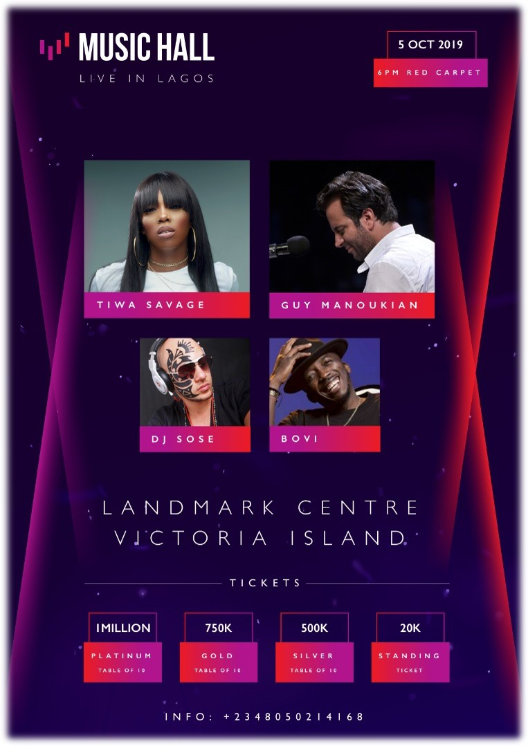 Image result for Live in Lagos – Music hall