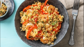 Prawn coconut rice
