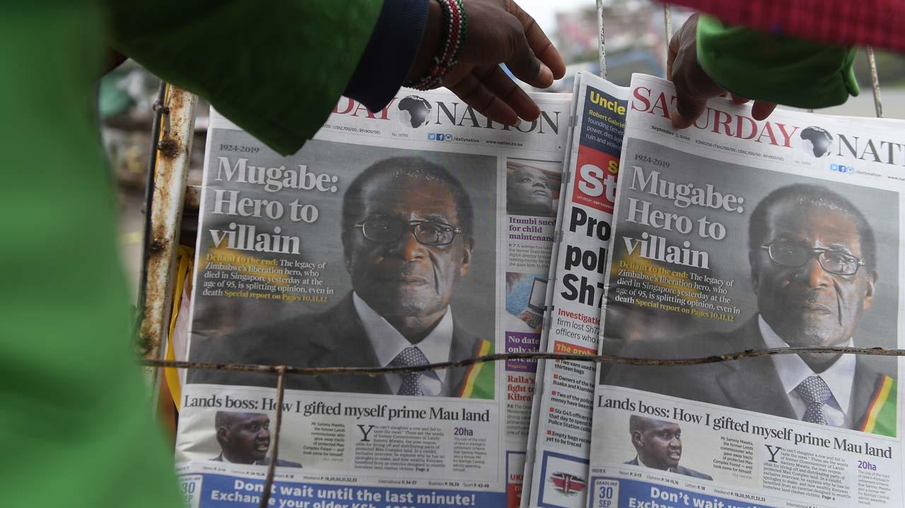 Mugabe's body may return home next week