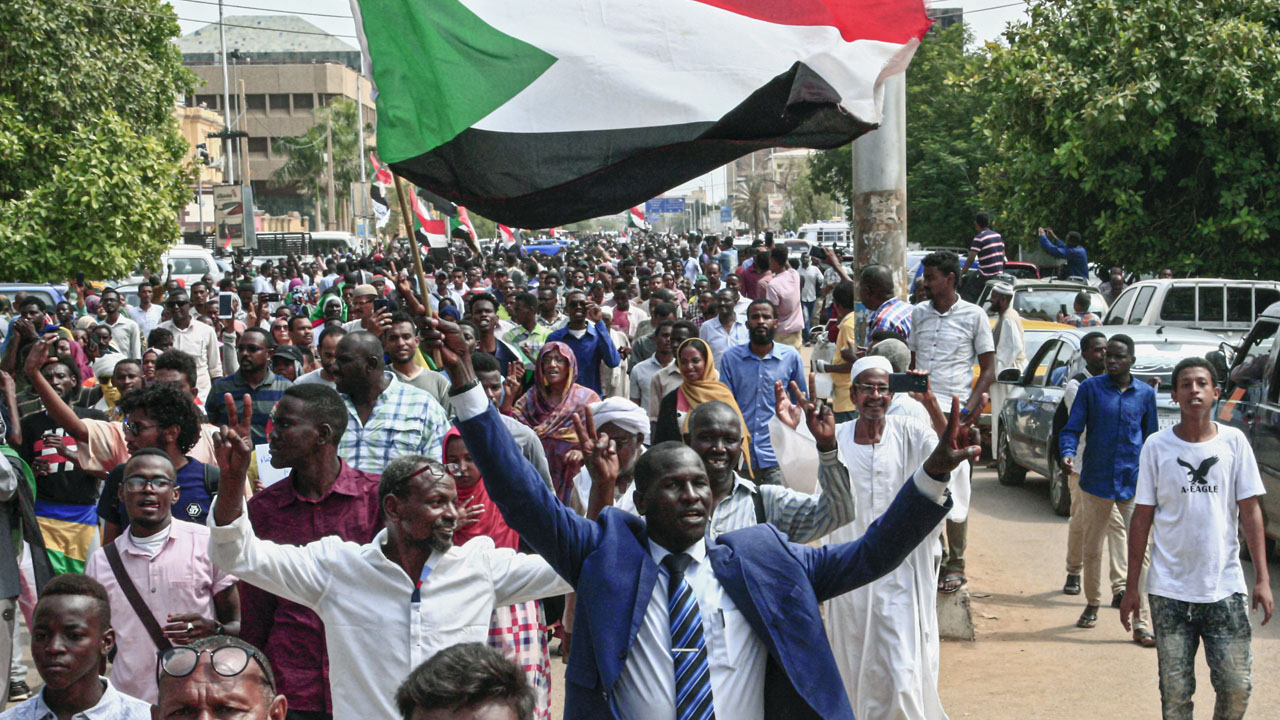 Protesters wants justice on killed comrades in Sudan