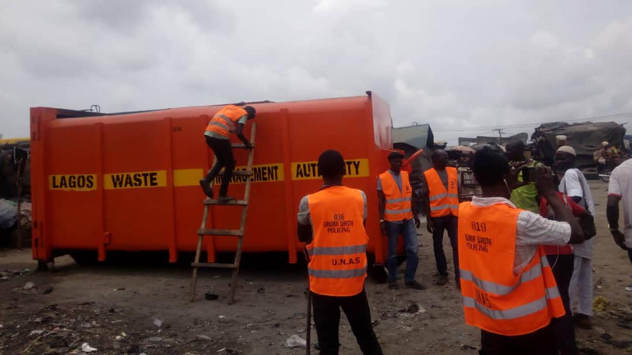 Indiscriminate Waste Disposal In Lagos