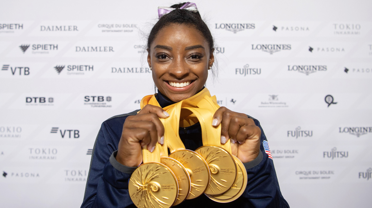 'Best ever' Biles hails record 25 world medals | The Guardian Nigeria News - Nigeria and World News