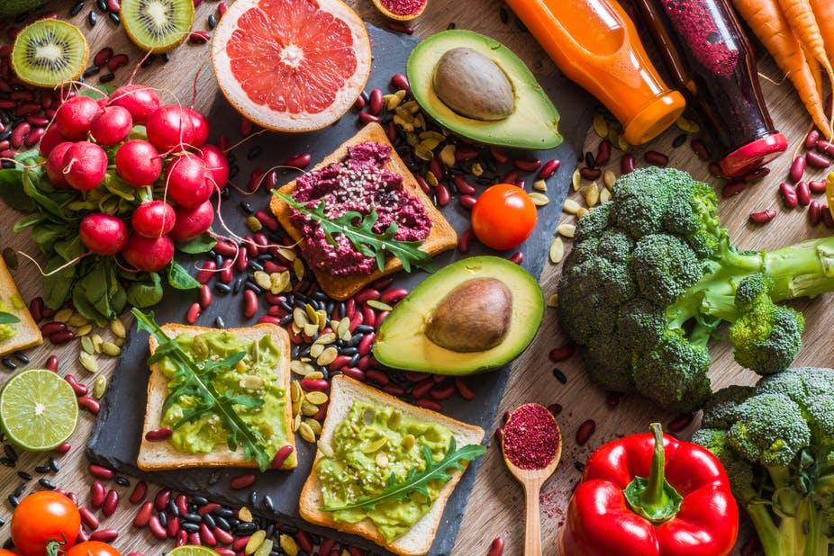 A vegan diet