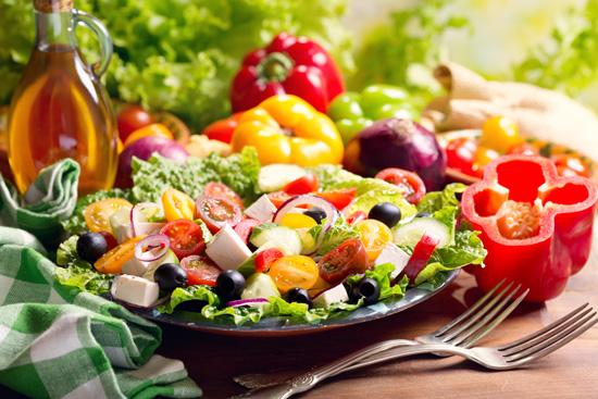 A vegeterian diet