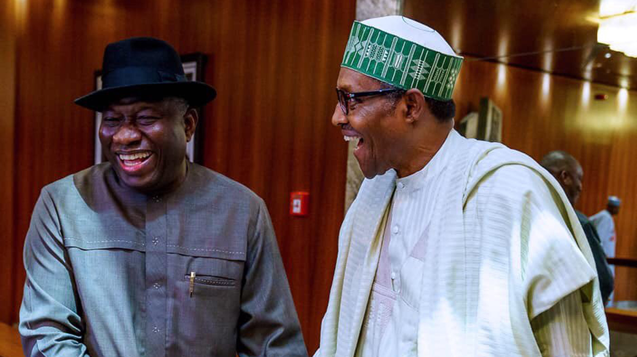 Ex-president Jonathan visits Buhari in Aso Rock, declines comments | The  Guardian Nigeria News - Nigeria and World NewsNigeria — The Guardian  Nigeria News – Nigeria and World News
