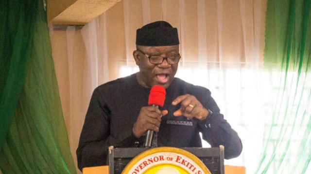 Fayemi presents N124.7b budget estimate to Ekiti Assembly - Guardian