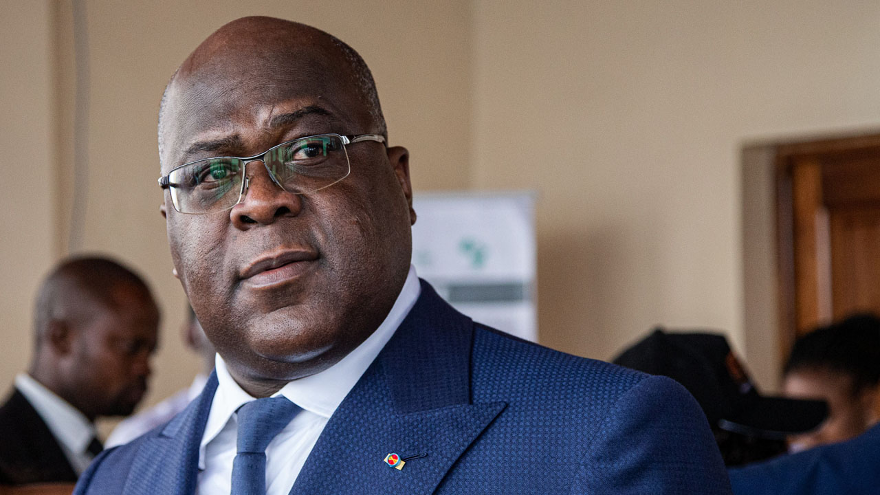 DR Congo's sceptical president finally gets Covid jab