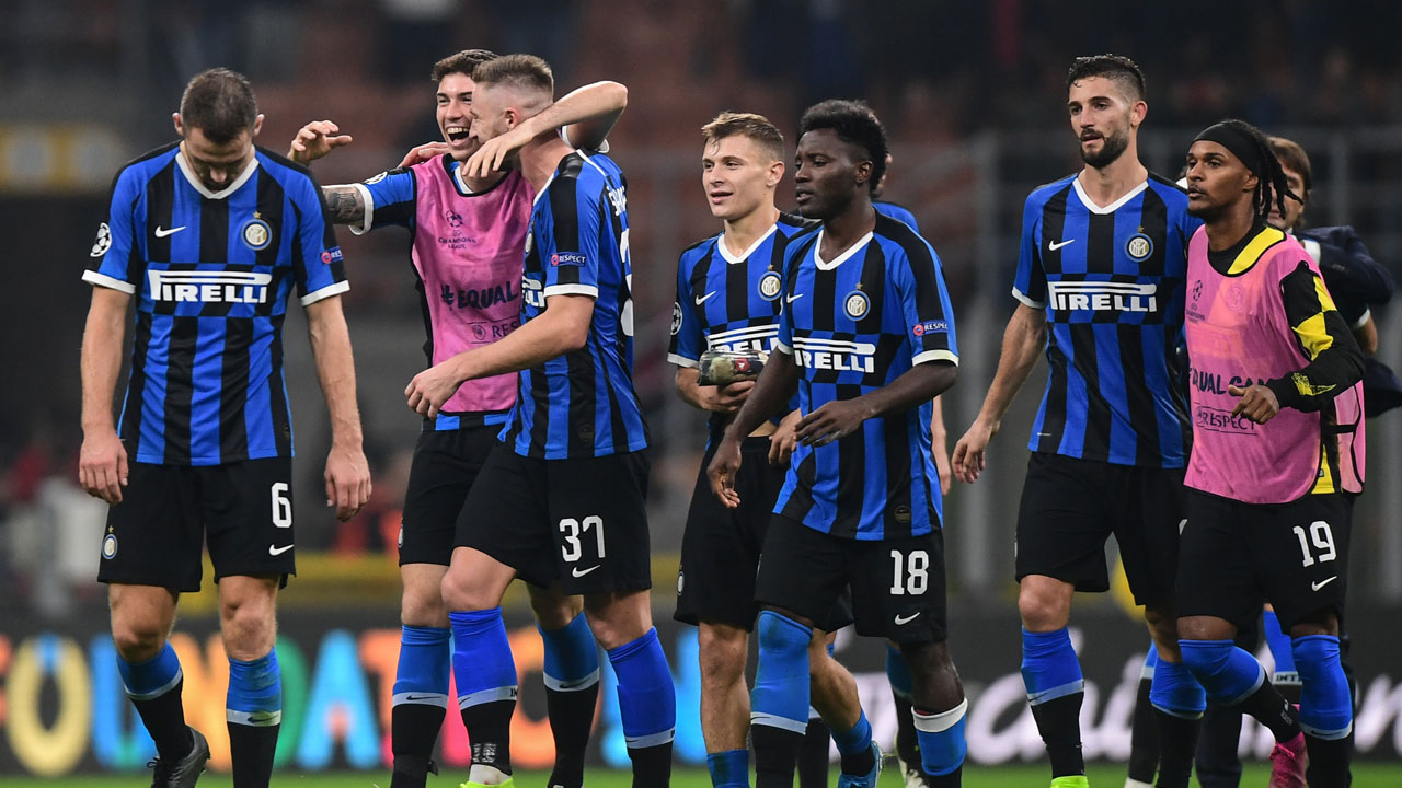 Inter Milan beat Dortmund to boost Champions League last ...
