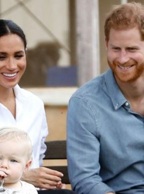 Prince Harry, Meghan Markle and Archie